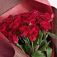 バラギフト専門店のマミーローズ 選べるバラ本数セレクト 還暦祝い 誕生日 プロポーズ 贈り物の豪華なバラの花束(生花) 赤 11本