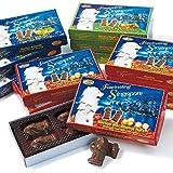 シンガポール 土産 マーライオン ミニチョコレート 4種12箱セット (海外旅行 シンガポール お土産)
