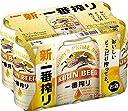 【2017年リニューアル】 新 キリン 一番搾り 生ビール 6缶パック 350ml×6本