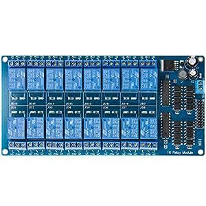 Subay(スベーヤ)12 V 16チャネルリレーモジュール光耦保護板LM2576電源PIC AVR MCU DSP ARM