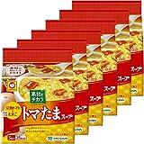 マルちゃん 素材のチカラ トマたまスープ 5食パック 30g×6個