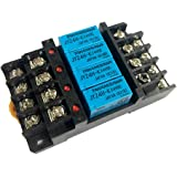 リレーソケット G6B-4BND コイル リレー端子台 4ピン JY24H-Kリレー付き