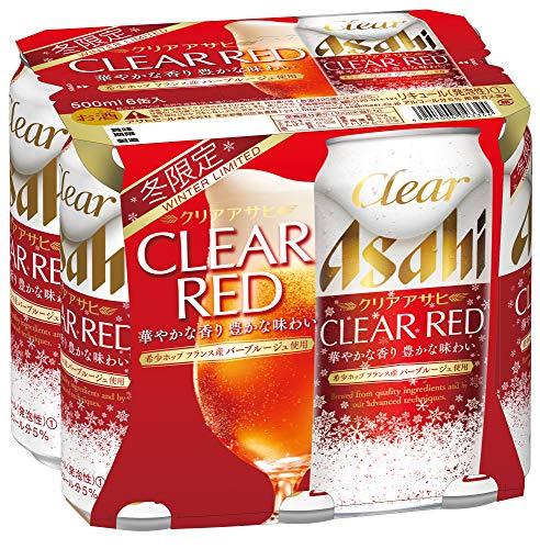 アサヒビール クリアアサヒ クリアレッド 500ml × 6缶