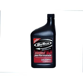 REVTECH OIL(レブテックオイル) ハーレー専用エンジンオイル 20W50 946ml=1クオート CC35052 CC35052 [HTRC3]