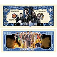 Limited Edition Doctor Who Collectible Million Dollar Bill in Currency Holder by American Art Classics [並行輸入品]