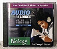 McDougal Littell Biology Audio Readings in Spanish CD