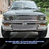 1992–1994トヨタピックアップトラック4WDビレットグリルグリル挿入# t61117a