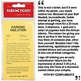 (ロフタス?インターナショナル)Loftus International 駐車チケット - 駐車場チケットのいたずらのセット 【インポート】
