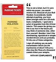 (ロフタス・インターナショナル)Loftus International 駐車チケット - 駐車場チケットのいたずらのセット 【インポート】