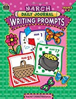 March Daily Journal Writing Prompts: Grades K-2