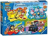 Ravensburger Paw Patrol 4大型ジグソーパズル(10,12,14,16pc)