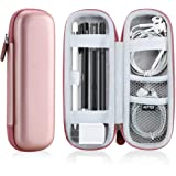 Case Holder for Apple Pencil, AGPTEK Elastic Strap Sleeve Pocket Protective Carrying Case for Samsung Stylus iPad Pro Pen, Pe