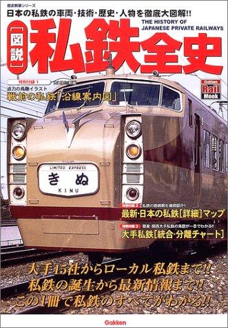 〈図説〉私鉄全史―日本の私鉄の車両・技術・歴史・人物を徹底大図解!! (歴史群像シリーズ―Gakken rail mook)の詳細を見る