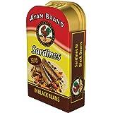 Ayam Brand Fried Sardines in Black Beans, 120g