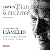 Haydn: Piano Concertos Nos.3, 4 & 11 by Marc-Andre Hamelin (2013-04-09)