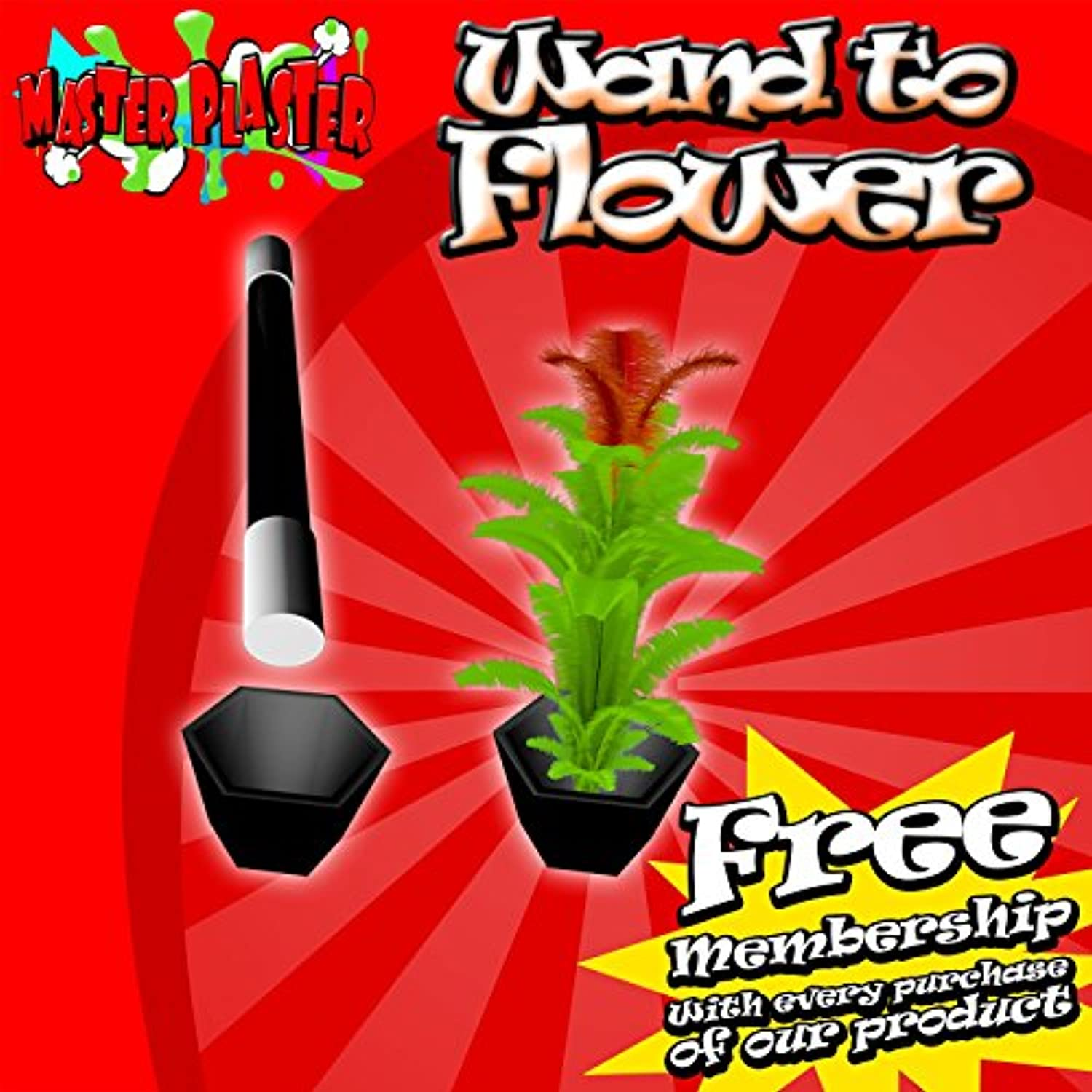 [M Is Magic]M Is Magic Magic Tricks wand to flower [並行輸入品]