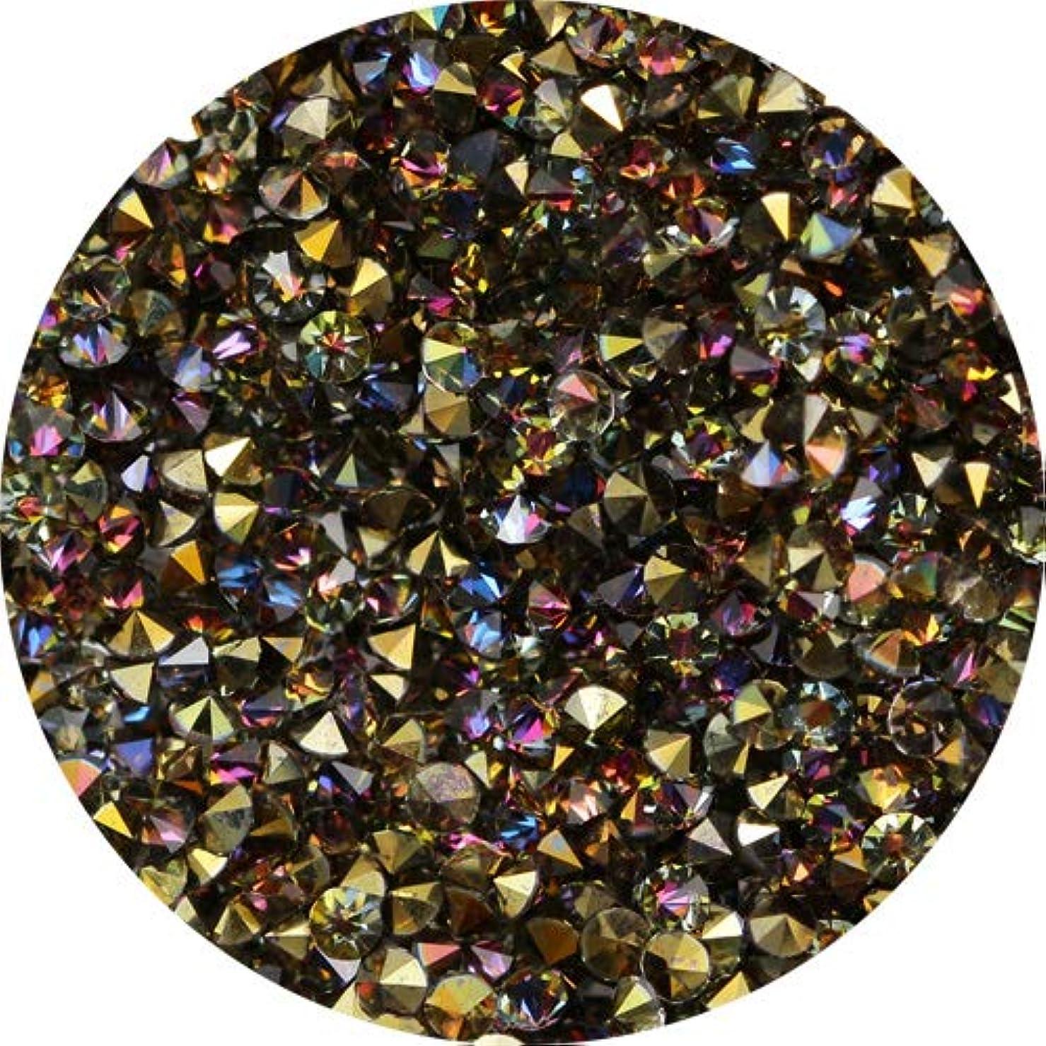 毎月ミケランジェロ遺跡MATIERE(マティエール) MATIERE クリスタルグレイン アラビアンゴールド 1440P 1440粒