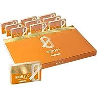 NICOLESS ニコレス (オレンジメンソール, 1カートン) IQOS互換機 加熱式 禁煙サポート 離煙 減煙 累計…