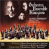 R.シュトラウス:クラリネットとファゴットのための二重小協奏曲ヘ長調,AV.147/メンデルスゾーン:交響曲第3番イ短調,op.56「スコットランド」