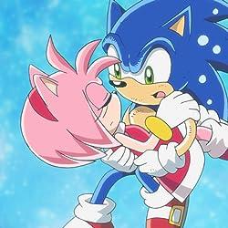ソニック・ザ・ヘッジホッグ(Sonic the Hedgehog)の人気壁紙画像 エミー・ローズ,ソニック・ザ・ヘッジホッグ