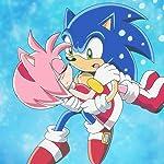 ソニック・ザ・ヘッジホッグ(Sonic the Hedgehog) iPad壁紙 エミー・ローズ,ソニック・ザ・ヘッジホッグ