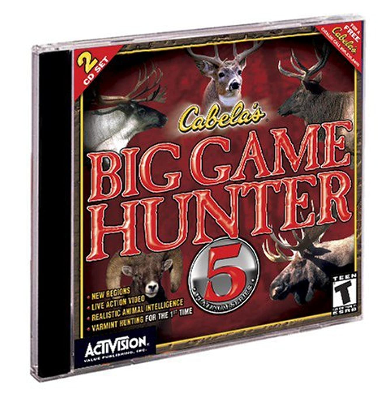 学校邪魔ビザCabela's Big Game Hunter 5 (Jewel Case) (輸入版)