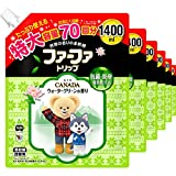 【ケース販売】 ファーファ 濃縮柔軟剤 カナダ ウォーターグリーンの香り 詰替 1400ml×6個