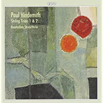 ヒンデミット:弦楽三重奏曲 第1番Op.34/同第2番