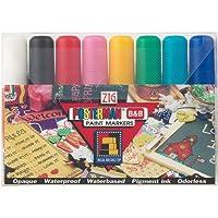 Zig Posterman 15mm Tip Markers 8/Pkg- (並行輸入品)