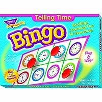 Trend Enterprises Inc。BINGO TELLING TIME Ages 6& Up T-6072