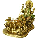 Hindu God Lord Surya Statue - India Home Temple Mandir Puja Idol Murti Pooja Item - Indian Diwali Holi Item Religious Handicr
