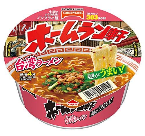 テーブルマーク ホームラン軒 台湾ラーメン 104g 1ケース(12食入)
