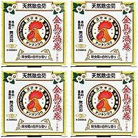 【まとめ買い】天然除虫菊 金鳥の渦巻 ミニサイズ 20巻【×4個】