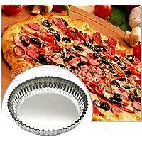 Lautechco 3個/バッグトラフノンスティックピザパンオーブンベーキングケーキ型 DIYピザパン