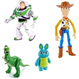 Disney ⋅ Pixar Toy Story 4 Core Character Figures with True to Movie Designs for Storytelling Play, Movie inspired Scale