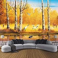 カスタム3D写真壁紙用ウォールテレビの背景寝室の油絵森林壁画壁画壁紙3D壁紙家の装飾,250cm×175cm