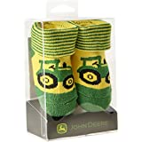 Infant John Deere Tractor Booties (Green/Yellow) - LP64355