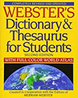 Webster's Dictionary & Thesaurus for Students Second Edition 【Creative Arts】 [並行輸入品]