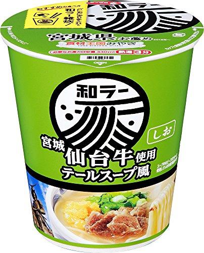 サッポロ一番 和ラー 宮城 仙台牛使用 テールスープ風 69g×12個