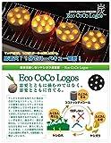 ロゴス(LOGOS) 着火剤  固形燃料 エコココロゴス・ミニラウンドストーブ4  ecoなヤシガラ炭