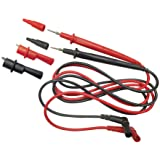Replacement Test Lead Set, Right Angle, Standard banana-type inputs, Klein Tools 69410