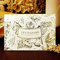 【ココサブ】結婚式 招待状 手作りキット 星空の宴 10枚 セット
