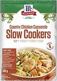 McCormick Slow Cookers Country Chicken Casserole Recipe Base 40 g,  40 g