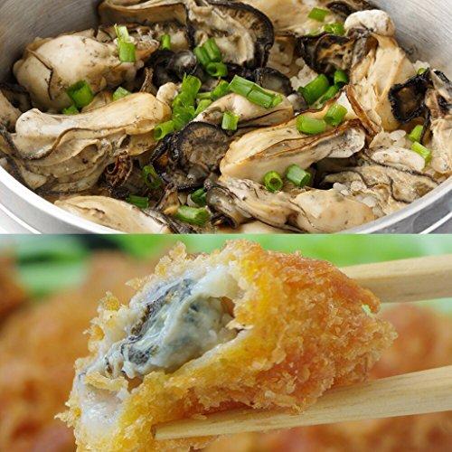 【広島県産】特大粒2?冷凍牡蠣1�s(約35粒/袋)& 牡蠣フライ800g(20粒)