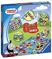 Ravensburger 6 in 1ゲームス トーマス Thomas & Friends, 6 in 1 Games