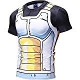 Amade メンズ アニメ系 tシャツ タンクトップ 短パンツ 速乾 面白 コンプレッションウェア
