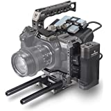 (Tilta Gray) TILTA TA-T01-A-G BMPCC 4K Cage Blackmagic Pocket Cinema Camera 4K Rig (Tactical Kit)