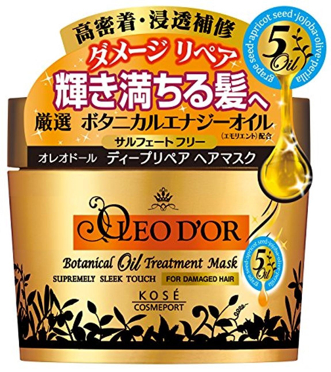 有益乳スナップKOSE コーセー オレオドール ボタニカルオイル ディープリペア ヘアマスク 200g