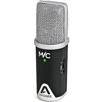 【正規輸入品】 Apogee MIC96K-LO USBマイクロフォン iOS & Mac (卓上三脚付き)