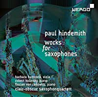 Paul Hindemith: Works For Saxphones